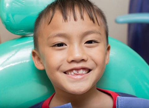 pediatric dental patient